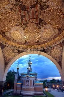 Abendstimmung Russische Kapelle