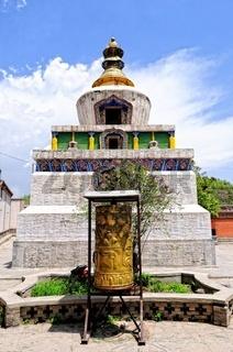 Kloster Kumbum  Stupa Xining