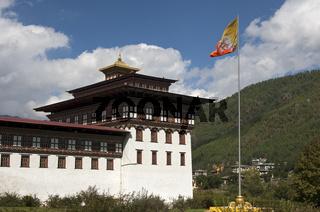Regierungssitz Thimphu Dzong, Thimphu, Bhutan