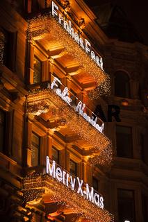 Hamburg Innenstadt Beleuchtung