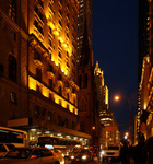 New York City Street at Night