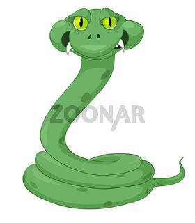 Cartoon Character Snake