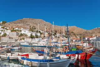 The port of Hydra, Greece