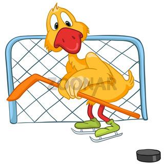 Cartoon Character Goose