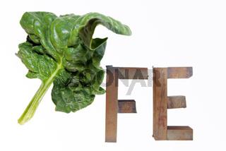 Der Mythos vom eisenreichen Spinat