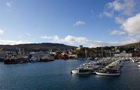 Tórshavn Hauptstadt der Färöer