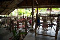 Webstube in Laos