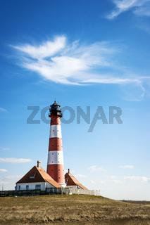 Lighthouse Westerhever Germany