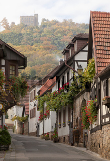 Historische Schlossgasse Hambach