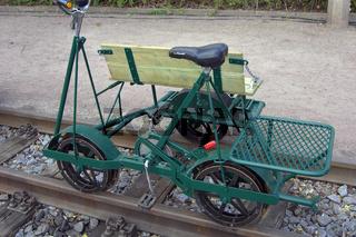 Schmalspurbahn-Draisine
