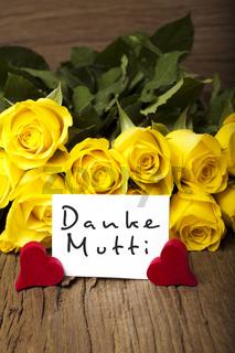 Muttertag 'Danke Mutti'
