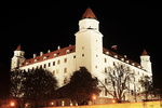 Bratislava Castle at night