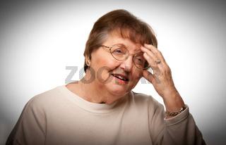Senior Woman with Aching Head