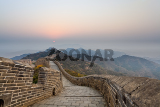 stretches of the great wall