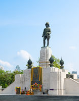 statue of King Vajiravudh, Bangkok