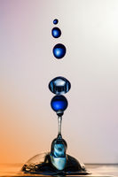 Water Sculpture: Blue Balls