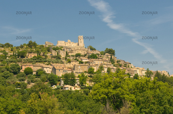 Provencal village of Lacoste