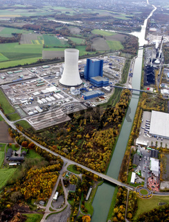 Neubau des EON Kraftwerkes in Datteln. Kraftwerk