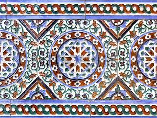 Moorish ceramic tiles