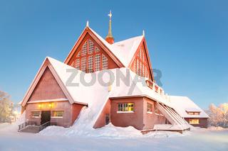 Kiruna cathedral Sweden