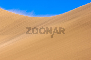 Wind über den Dünen der Namib