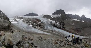 Auf dem Weg zum 'Ochsentaler Gletscher'