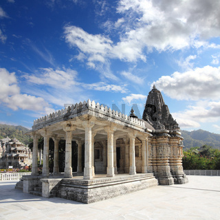 ranakpur hinduism temple in india