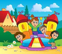 Play and fun theme image 1 - picture illustration.