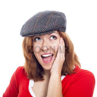 Ecstatic woman