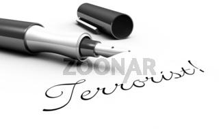 Terrorist! - Stift Konzept