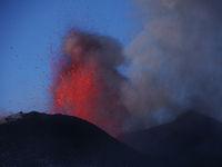 Ätna Vulkanausbruch