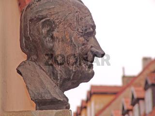 Kopfbueste in Eger