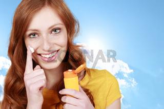 Sonnenschutz bei heller Haut