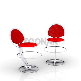 Zwei Barstühle