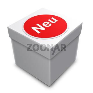 box mit neu beschriftet
