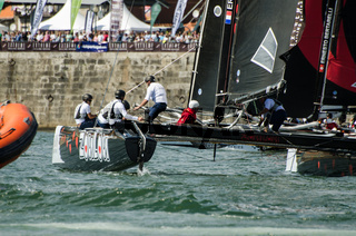 ZouLou compete in the Extreme Sailing Series
