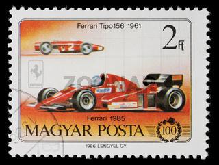 Ferrari Stamp