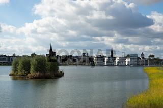 Naherholungsgebiet Phönixsee in Dortmund, Deutschland