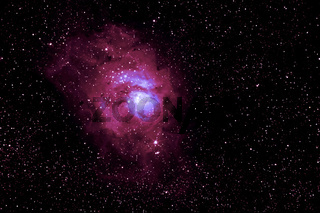 M 8 Lagunennebel - NGC 6523