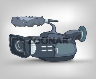 Cartoons Home Appliences Video Camera