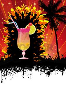 Spring Break Beach Cocktail Party