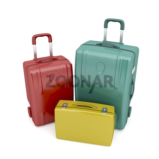 Travel bags and briefcase