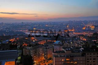 Panorama von Porto, Portugal