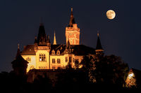 Schloß Wernigerode bei Nacht