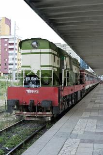 Tirana Hauptbahnhof