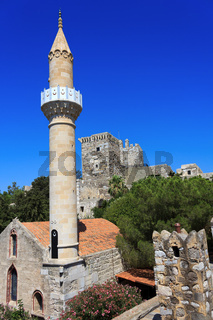 Castle of St. Peter in Bodrum, Turkey