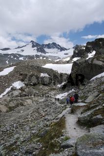 Wandern in der Silvretta