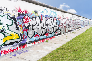 Wall in Berlin Germany