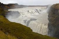 Wasserfall Gullfoss in Island