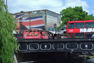 Camden Lock Village in London, Großbritannien
